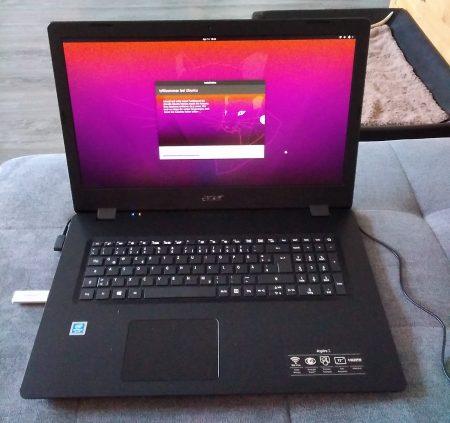Acer installation